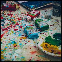 splattered paint image